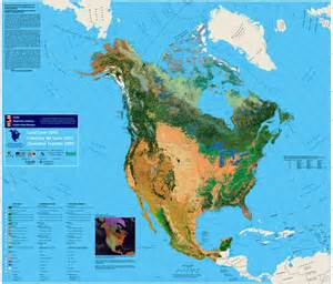 vegetation map of us and canada characterization and monitoring change of canada s land