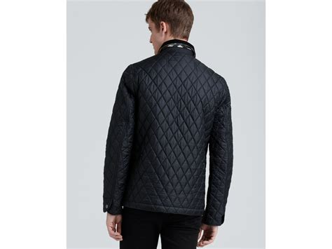 Burberry Quilted Barn Jacket by Burberry Brit Roden Quilted Barn Jacket In Black For