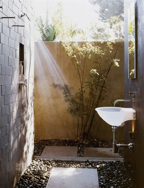 outside bathroom ideas 12 luxurious outdoor showers design milk