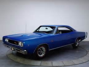 retro cars dodge coronet r t 1968