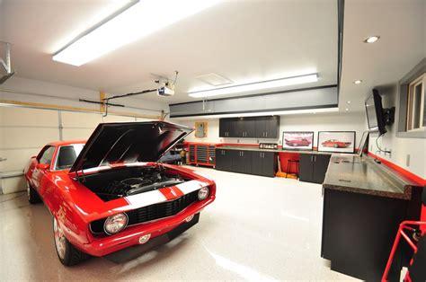 workshop lighting layout design d 233 co garage maison exemples d am 233 nagements