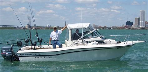 charter boat fishing michigan city in brew city charters lake michigan fishing at it s finest