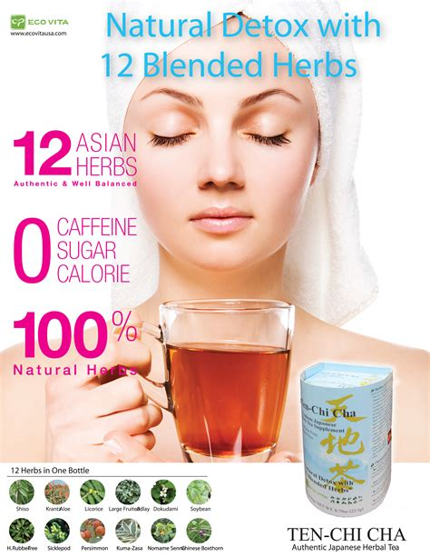 Qi Detox Tea Side Effects by Ten Chi Cha Best Beverage Against Obesity