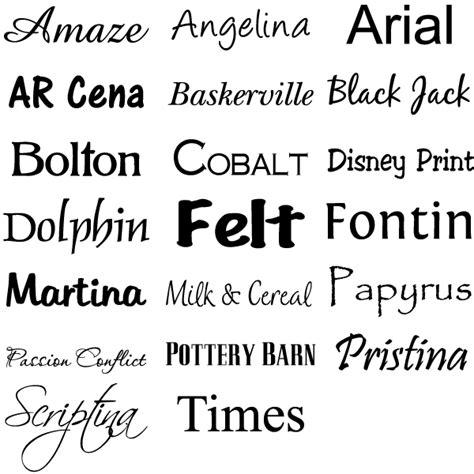 font name custom vinyl lettering vinyl craft lettering