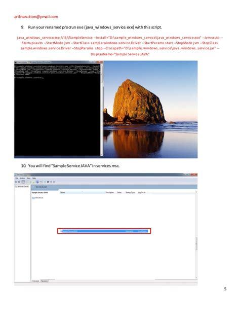 transaction script pattern java exle tutorial windows service with java procrun