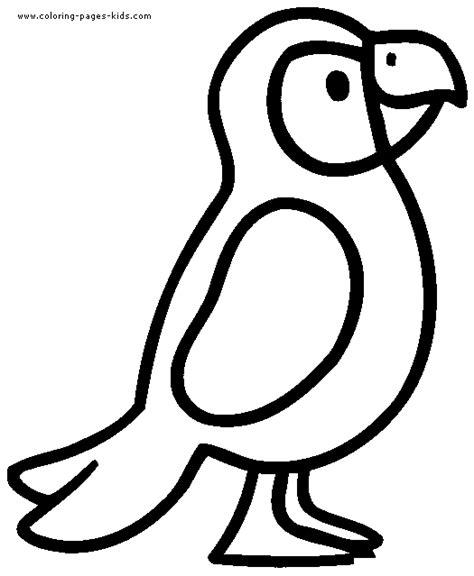 parrot coloring page ausmalbilder f 252 r kinder malvorlagen und malbuch parrot