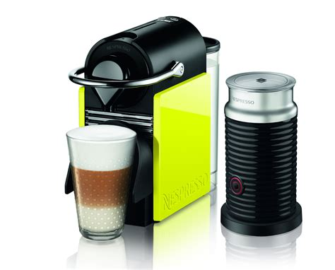 The Nespresso Pixie Clips coffee machine has its own wardrobe