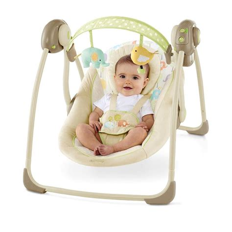 bright starts harmony swing babies quot r quot us portable swing baby boy pinterest