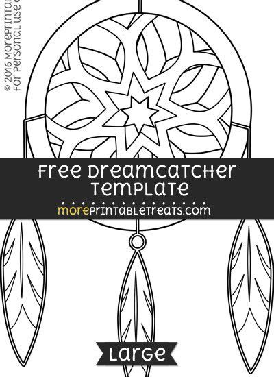 Free Dreamcatcher Template - Large (With images) | Dream