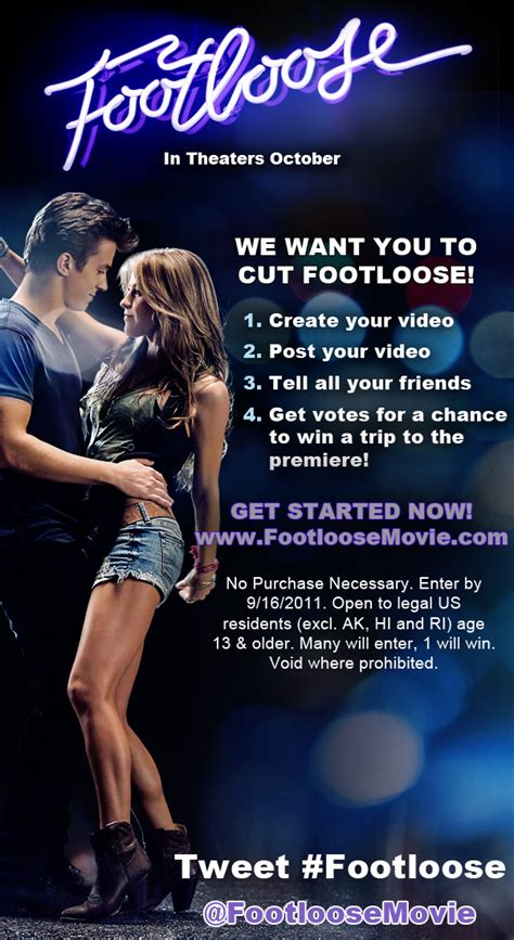footloose video contest herbal essences    cut footloose pure dancing