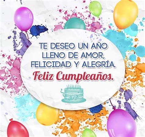 imagenes de feliz cumpleaños bonitos lindas imagenes de cumplea 241 os con mensajes bonitos mas