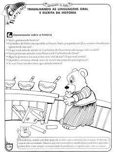 Historias Infantis Para Imprimir | Historia cachinhos