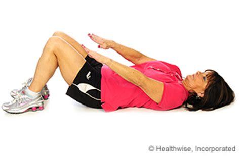 abdominal strain rehab exercises