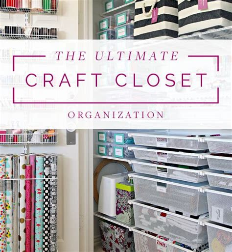 The Ultimate Closet by The Ultimate Craft Closet Organization Iheart Organizing