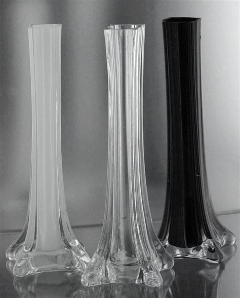 12 Eiffel Tower Vases by Black Cheap Vases Eiffel Tower Vases Cheapest Price 12