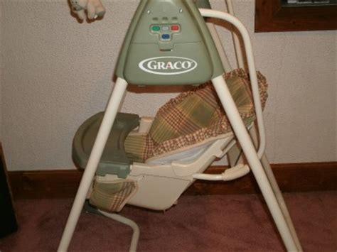 used baby swings for sale graco gentle choice baby swing with mobile 6 speed 15