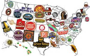 United States Beer Map by The United States Of Beer According To Beer Advocate