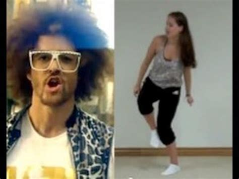 tutorial dance lmfao lmfao party rock anthem dance tutorial youtube