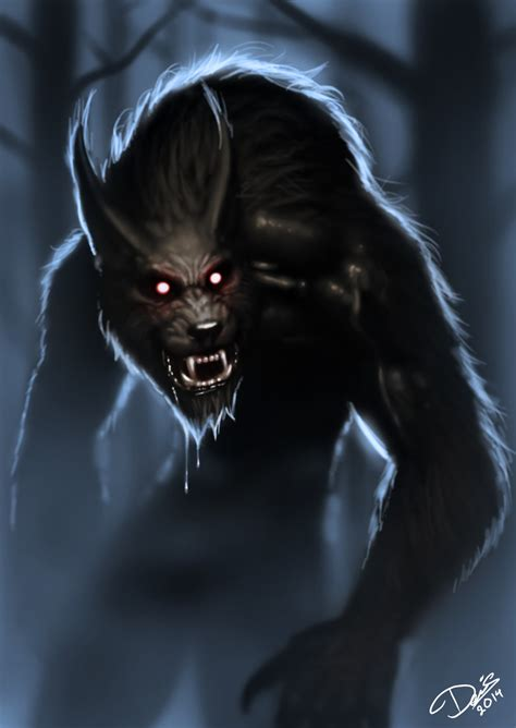 werewolf by disse86 on deviantart