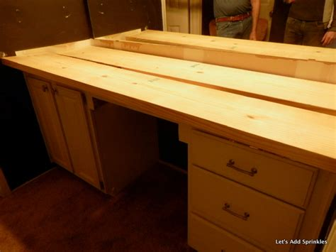 diy bathroom countertop ideas wooden bathroom countertop hometalk