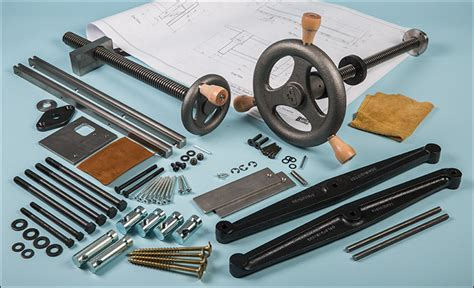 bench hardware kit benchcrafted roubo bench plans vise hardware lee