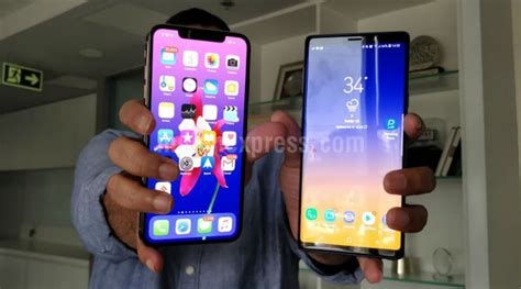 apple iphone xs max vs samsung galaxy note battle of the big flagships technology news the
