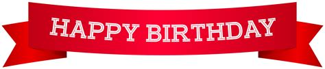 Banner Happy Birthday happy birthday banner png clip image gallery