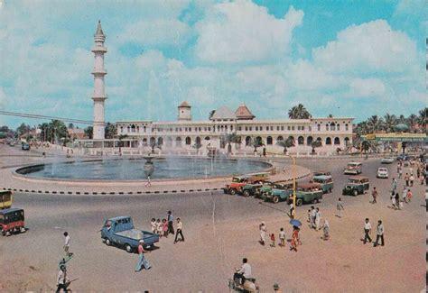 Kartu Pos 97 kartu pos bergambar masjid agung palembang foi