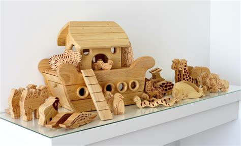 ark large boat natural wood noah s ark boatwood like to play