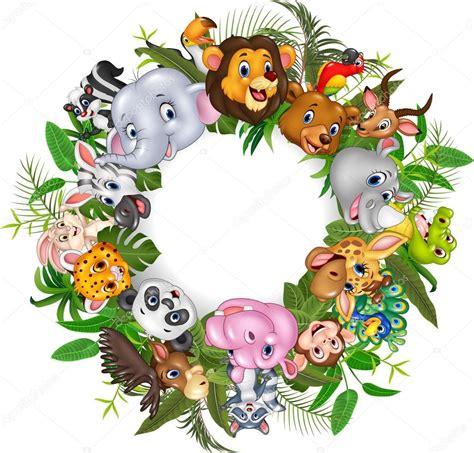 imagenes animales safari animales del safari del dibujo animado vector de stock