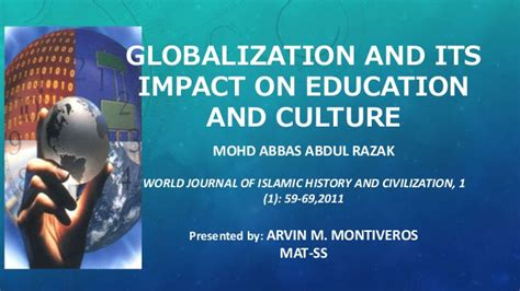 Essay On Globalization And Its Impact On Indian Culture by Globalization And Its Impact On Education And Culture