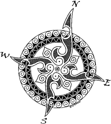 celtic compass tattoo designs image result for http www wildravens net images