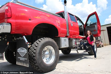 How Tall Is A 2 Story House by Extreme Super Truck The Kings Of Customised Picks Ups