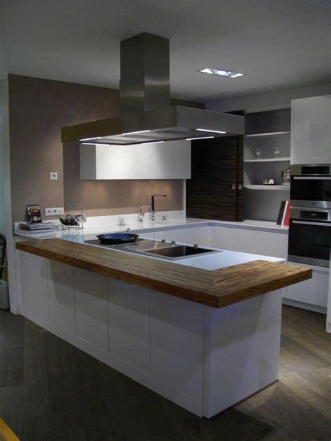 cuisine avec snack bar style cuisiniste 224 m 233 rignac cuisines nolte plan de