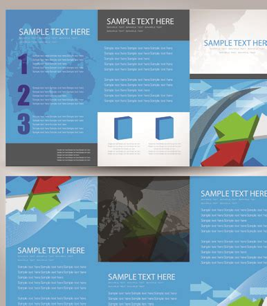 commonly business brochure cover design vector 01 free business cards and brochure covers design vector 01