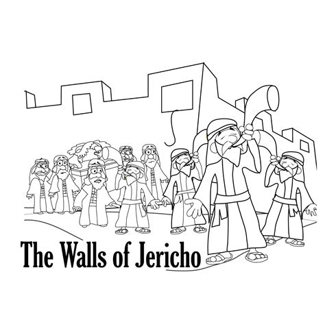 coloring pages for joshua and the battle of jericho mr biblehead achan is exposed joshua7