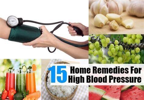 Home Remedy For High Blood Pressure by 15 Home Remedies For High Blood Pressure