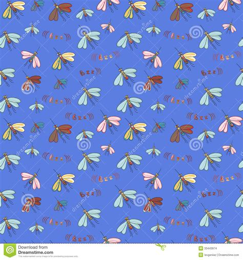 pattern for mosquito net mosquito pattern stock images image 33443974
