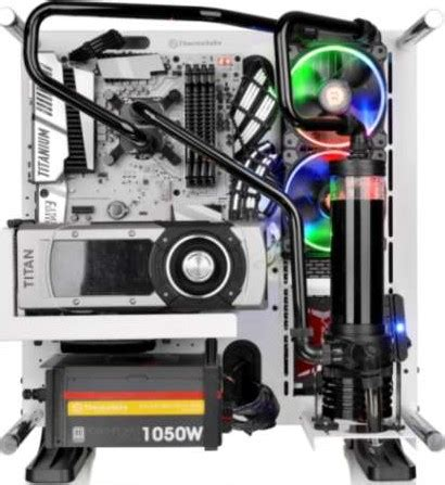 Thermaltake C1000 Opaque Merah thermaltake c1000 opaque coolant 1000 ml black cl w114 os00bl a buy best price in uae