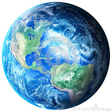 planet earth  transparent background stock photo image