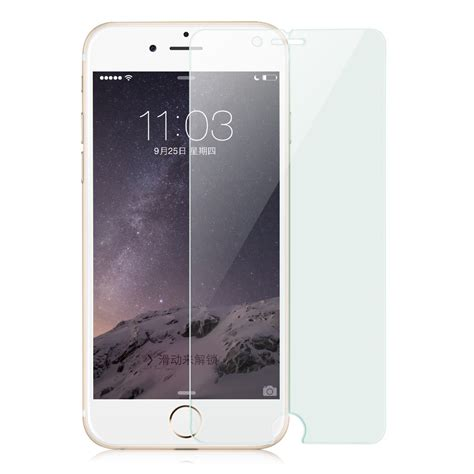 Antigores Tempered Glass Iphone6 baseus ultrathin anti brust arc 0 3mm tempered glass for