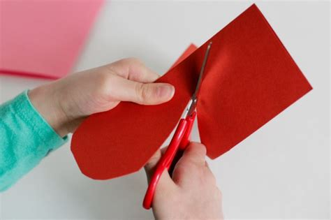 How To Make Paper Cutting - airplane hearts make and takes