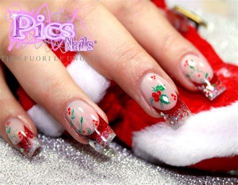 decori unghie fiori decorazioni unghie gel natalizie 2016 nails a porter