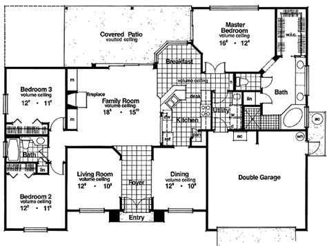 big house floor plans house plans with large bedrooms home design and style