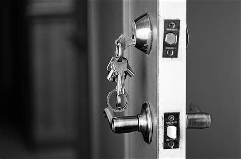 The Key Of The Door by Door Door Knob And Royalty Free Stock