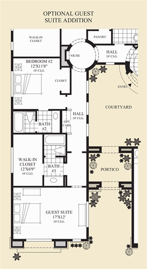 guest suite floor plans windgate ranch scottsdale cassia collection quick