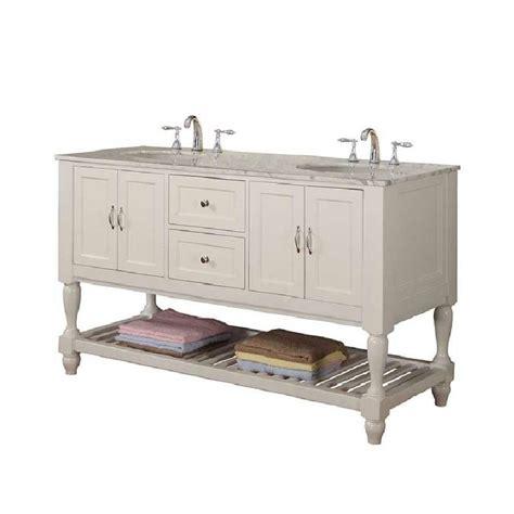 mission bathroom vanity direct vanity sink mission turnleg 60 in double vanity in