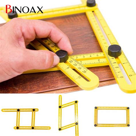 Extension Kepala Obeng Fleksibel 1 4 300mm Limited penggaris 4 sudut four sided folding ruler yellow jakartanotebook