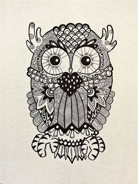 doodle owl the 25 best owl doodle ideas on how to draw
