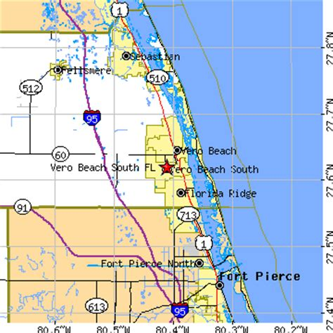 zip code map vero beach fl vero beach south florida fl population data races